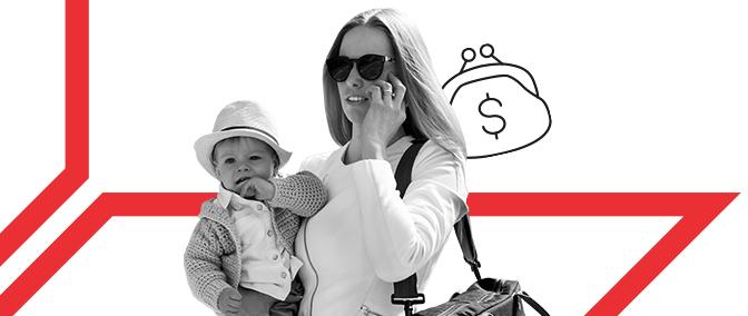 Mama kann: wie man im Mutterschaftsurlaub Geld verdient